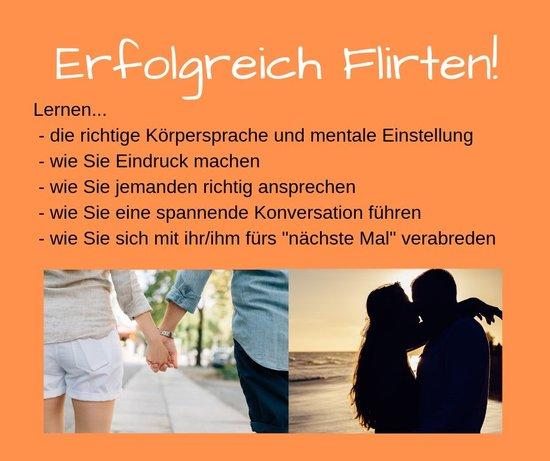 flirten körpersprache lernen